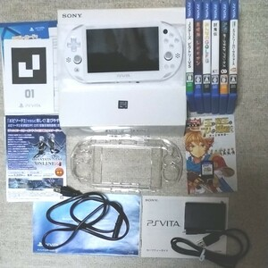 PS Vita 本体(FINAL FANTASYⅩ/Ⅹ2仕様)+ソフト7本