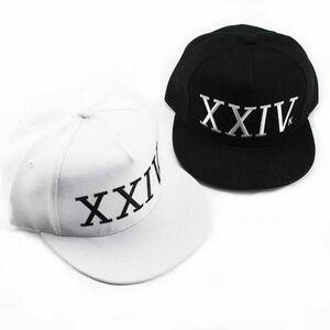 送料無料☆彡新品◆ブルーノマーズ XXIV K キャップ 白と黒セット Bruno Mars CAP