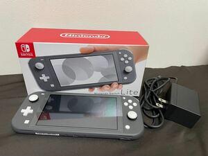 Nintendo Switch Lite 本体 グレー