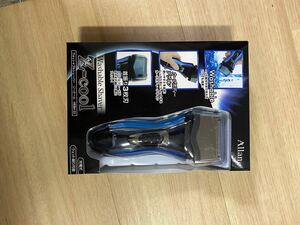髭剃り 電気シェーバー 電気カミソリ 3枚刃 メンズ 男性 シェイバー 充電式 水洗い
