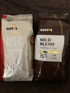 ドトール コーヒー豆2種