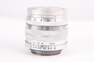 TOKYO KOGAKU 東京光学 JAPAN トプコール TOPCOR-S F2 5cm 単焦点レンズ 一眼レフ 24456-Y