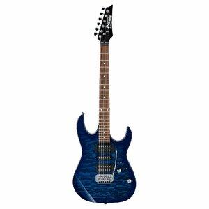 121113 Ibanez GIO GRX70QA-TBB エレキギター アクセサリーセット付属