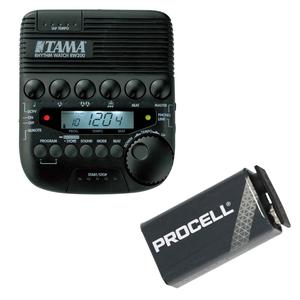 s19014 TAMA RW200 TAMA RHYTHM WATCH  Метроном  Duracell Procell 9V батарея  набор