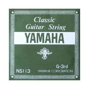 s17140 YAMAHA NS113 G-3rd 1.03mm クラシックギター用バラ弦 3弦×2本