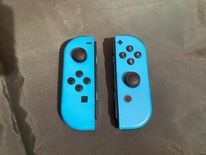 Joy-Con ジョイコン Nintendo Switch ネオンブルー 左右セット ジャンク