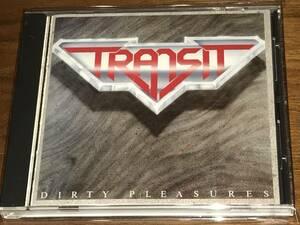 送料込み TRANSIT トランジット/DIRTY PLEASURES ダーティ・プレジャーズ 国内盤 即決