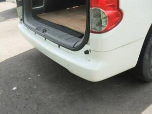 [ni-ga 日産 NV200バネットワゴン 16X-2R(DBA-M20)白(QX1) リアバンパー ] 個人宅配送不可