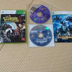 XBOX360ソフト 3本セット