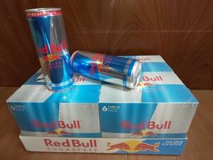 レッドブル シュガーフリー エナジードリンク 250ml缶×24本入り(1ケース) Red Bull