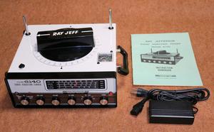 Ray Jefferson マリンラジオ 方向検知ラジオ DFレシーバー 4バンド+クリスタル2ch 海外向け日本製