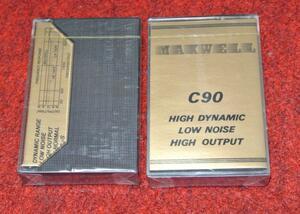 10本セット 激安 旧ソ 冷戦時代にソ連(現ロシア)で売られていたカセットテープ C90 MAXWELL HIGH OUTPUT 未使用未開封品 香港メーカー
