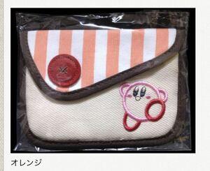 クラブニンテンドー 毛糸のカービィスナップポーチ オレンジ