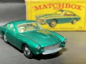 Matchbox #75b Ferrari Berlinetta (wire wheel)  マッチボックス フェラーリ ベルリネッタ Lesney レズニー レスニー England