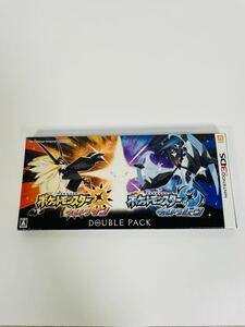 未開封品 ポケットモンスターウルトラサン・ウルトラムーン 3DS 3DSソフト ダブルパック
