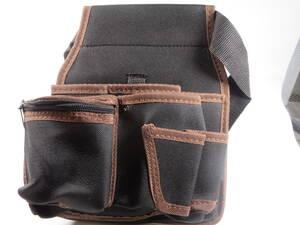 釀【新品即決】 工具袋 工具入れ ウエストポーチ ウエストバッグ ポーチ 腰袋 DIY ガーデニング 多機能