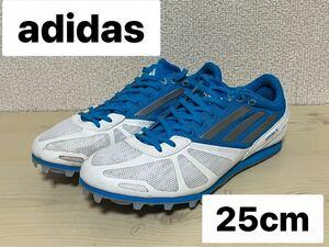 adidas アディダス アライバ4 ARRIBA4 25cm 陸上 スパイク