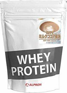 アルプロン WPI ホエイプロテイン100 1kg【約50食】 ミルクココア風味(WPI ALPRON 国内生産)