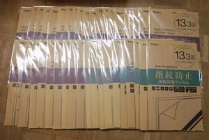 39個セット Nakabayashi パソコン用液晶保護フィルム[13.3インチワイド用]指紋防止 SFBFLS133W 等