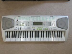 ny011★CASIO カシオ 電子ピアノ GENERAL MIDI HIKARI NAVIGATION LK-58 ジャンク