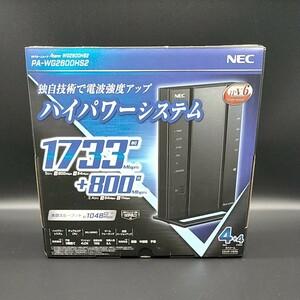 NEC Aterm 無線LANルーター PA-WG2600hs2 ハイパワーシステム