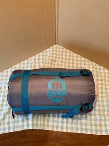 スタンディングベア ハイブリッド封筒型 寝袋 210x85cm シュラフ