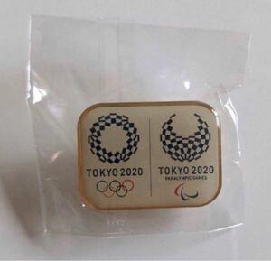 【非売品】ピンバッジ 新品未使用 TOKYO 2020 東京オリンピック・パラリンピック