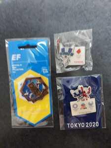 東京オリンピック ピンバッチ ピンバッジ 2020 ピンズ EF 聖火リレー トヨタ クライミング ミライトワ