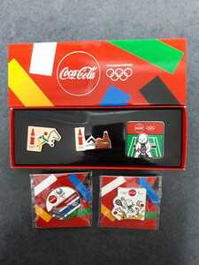 東京オリンピック ピンバッチ ピンバッジ 2020 テニス コカ・コーラ ピンズ 未使用