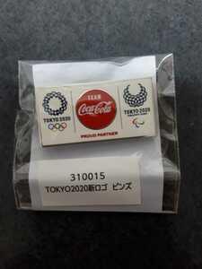 東京オリンピック ピンバッジ ピンバッチ コカ・コーラ 2020 ピンズ 未使用