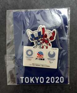 東京オリンピック ピンバッジ ピンバッチ 2020 アース製薬 ピンズ ミライトワ 未使用
