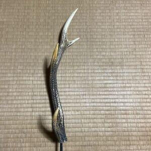 鹿の角 ランタンハンガー 39