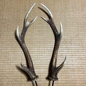 鹿の角 ランタンハンガー 40