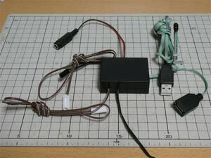 鉄道模型用軌道回路検知式自動閉塞信号機(TOMIXコネクタ)