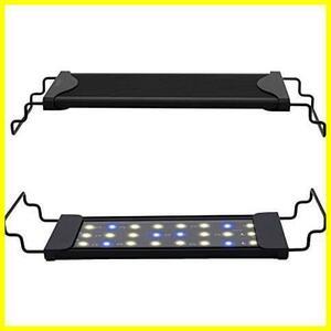 Varmhus 水槽 ライト 30cm ~ 45cm の水槽に対応 青白2色LED 熱帯魚 観賞魚飼育 水草育成 アクアリウムライト