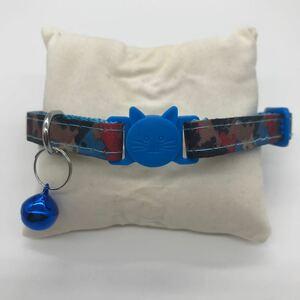 セーフティーバックル首輪 鈴付き首輪 猫用首輪 安全首輪 猫用品 ペット用品
