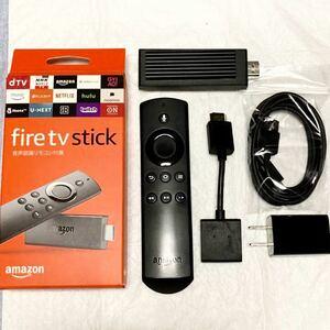 ヒートシンク付 動作OK ワンオーナー品 Amazon Fire TV Stick 第2世代 アマゾン テレビ 送料込 匿名配送