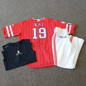 [ charity ] Fukuoka SoftBank Hawks .... player 2021 hawk. festival . exclusive use uniform ( top and bottom )