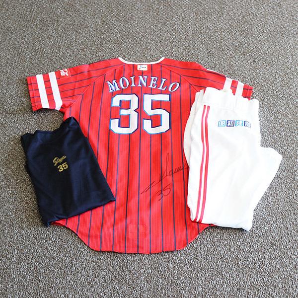 [チャリティ]福岡ソフトバンクホークス モイネロ投手 2021鷹の祭典専用ユニフォーム(上下)