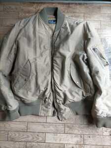 ラルフローレン MA-1 オマケでブラックウォッチ柄ポロシャツ