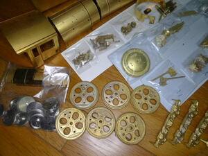 ワールド工芸 C62 汽車タイプ 真鍮キット OJゲージ 銀河鉄道999 松本零士