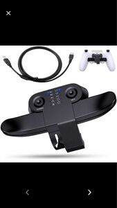 PS4 背面ボタンアタッチメント 発売 PS4純正 コントローラー用 背面パドル 簡単設定 リコイル制御
