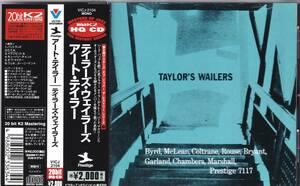 ☆ART TAYLOR(アート・テイラー)/Taylor's Wailers◆57年録音の豪華すぎる面子大挙参加の歴史的大名盤◇高音質20bit K2 HQCD仕様&レア★
