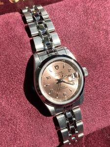Tudor チュードル プリンセスデイト 92400 レディース 腕時計 ピンク文字盤