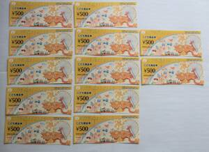 こども商品券 6000円分 2023年12月31日まで有効 ギフト券 KID'S GIFT CARD