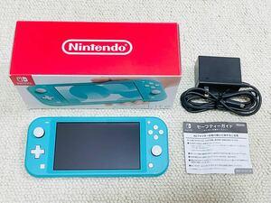 Nintendo Switch Lite ターコイズ ニンテンドースイッチ 本体