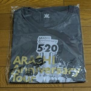 嵐ARASHI 5×20 Tシャツ