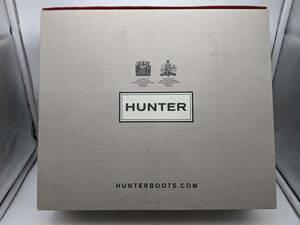 02-305 新品未使用品 HUNTER ハンター レインブーツ メンズ MFS9060RBS ダーク オリーブ 27cm 箱付き