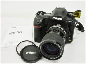 16 51-437107-07 [S] Nikon ニコン D850 デジタル一眼 カメラ Zoom-NIKKOR 35-70mm 1:3.5 福51