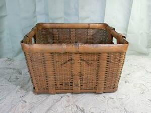 ★①竹籠 角籠
